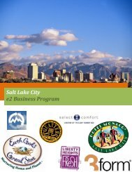 Salt Lake City e2 Business Program