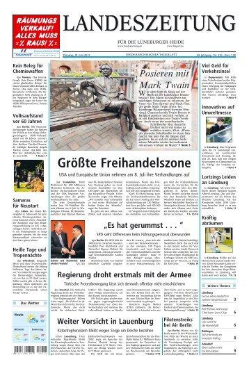 Größte Freihandelszone - Artlenburg