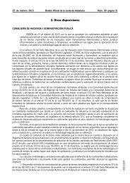 3. Otras disposiciones - Ministerio de Hacienda y Administraciones ...