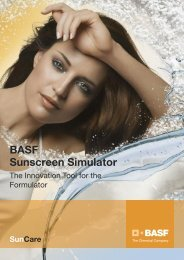 Flyer with Examples - Personal Care - BASF.com