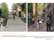 Activating Alleys for a Lively City - Green Futures Lab - University of ...