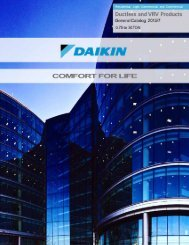 General Product Catalog - Daikin AC