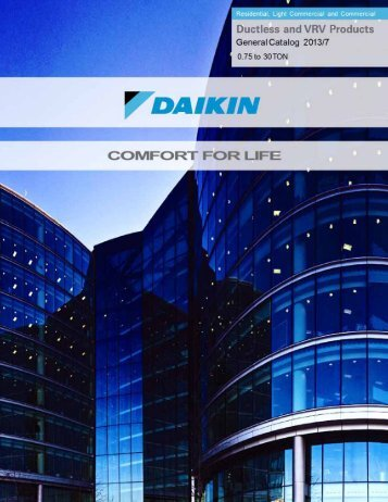 General Product Catalog - Daikin AC