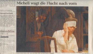 die presseberichte - Theatergruppe St. Karl