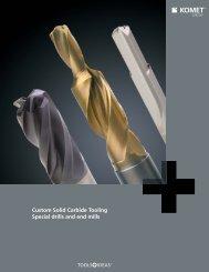 Custom Solid Carbide Brochure - Komet