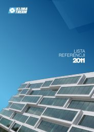2011 Lista Referencji - Klima-Therm