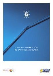 LA NUEVA GENERACIÓN DE CAPTADORES ... - k4-collectors.com
