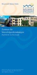 Zentrum für Stressfolgeerkrankungen - Clinica Holistica Engiadina SA