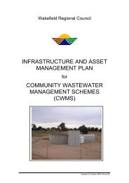 infrastructure and asset management plan community wastewater ...