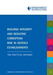 10-steps-sample spread - Transparency International Defence