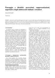 Paesaggio e identità - Università degli Studi di Padova