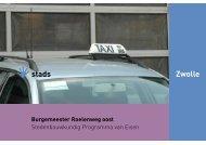 Burgemeester Roelenweg oost - BIS - Gemeente Zwolle