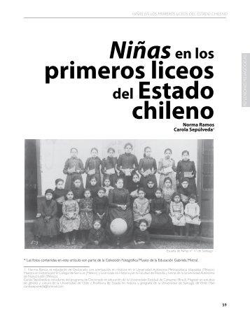 Niñasen los primeros liceos del Estado chileno - Revista Docencia
