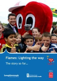 Flames - BHF National Centre - physical activity + health