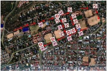 KES Easter Festival 2014 Traffic Flow Map One Way system