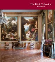 membership brochure - The Frick Collection