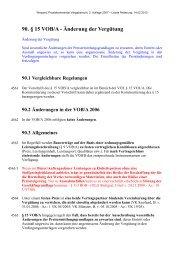 90. § 15 VOB/A - Änderung der Vergütung - Oeffentliche Auftraege