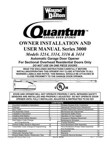 Gdo 11v1 User Manual Indd Dominator