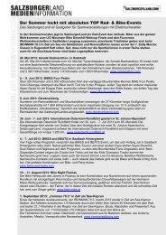 Neuheiten für den Sommerurlaub 2012 - Presse Informationen ...