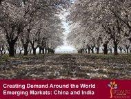 Creating Demand Around the World Emerging Markets: China and ...