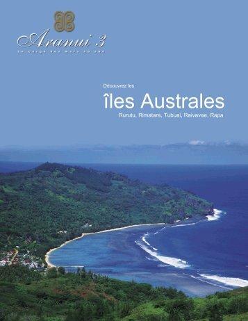 îles Australes - Voyages Cassis