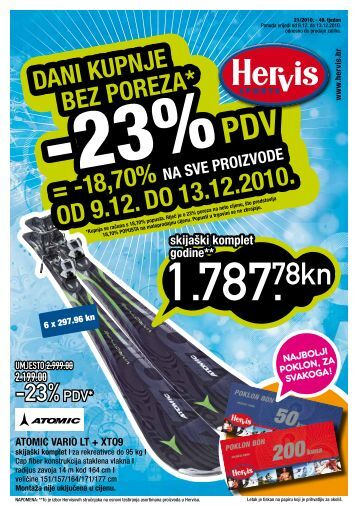 18,70% OD 9.12. DO 13.12.2010. - Hervis