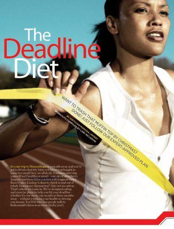 The Deadline Diet - Womens Health