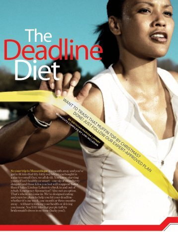 The Deadline Diet - Womens Health