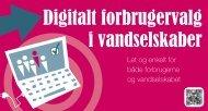 Digitalt forbrugervalg i vandselskaber - Tankegang