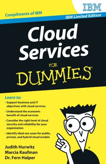 Cloud Services For Dummies, IBM Limited Edition - Business Cloud ...