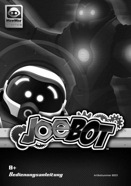Bedienungsanleitung Wowwee Joebot Myrobotcenter