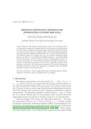 efficient estimation methods for informative cluster size data