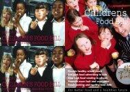 Food Bill - Sustain
