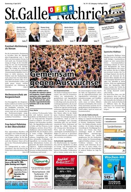Sankt-Gallen - Lovescout 24 Schweiz