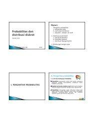 Probabilitas dan distribusi diskret - Blog untuk staff dan dosen d3ti ...