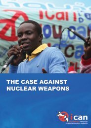 the case against nuclear weapons - International Campaign to ...