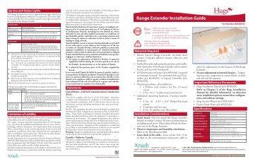 Range Extender Installation Guide - Stanley Healthcare Solutions