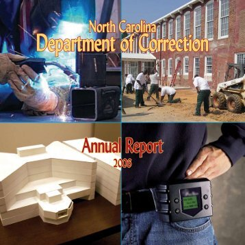 2005-2006 Department of Correction Annual Report