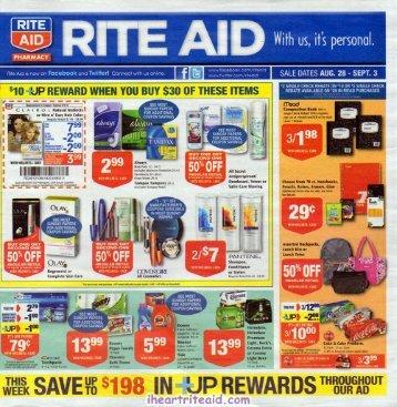 i heart rite aid: 08/28 - 09/03 ad