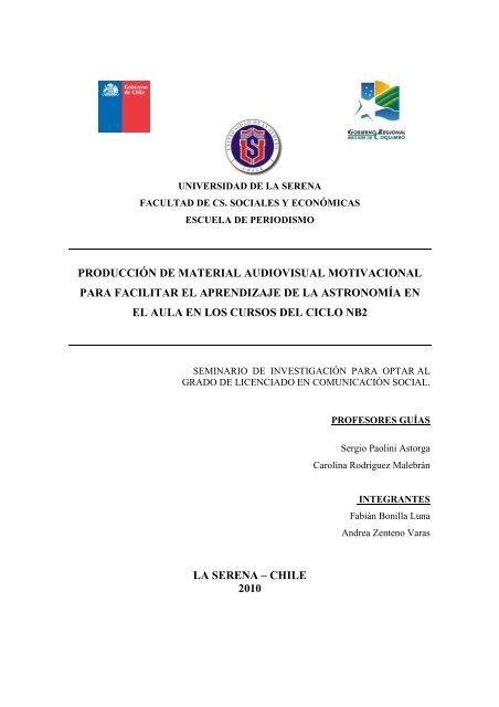 Documento Pdf Escuela De Periodismo Universidad De La Serena