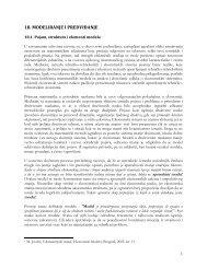 Predviđanje - Ekonomski fakultet Subotica