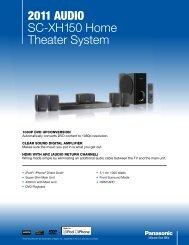 2011 AudiO SC-XH150 Home Theater System - static.highspeedb...