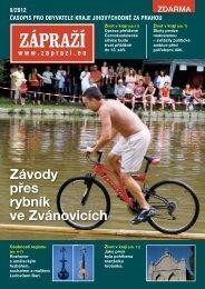 Závody přes rybník ve Zvánovicích - Zápraží