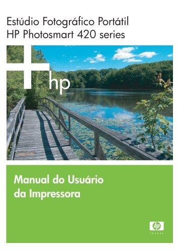 Manual do Usuário da Impressora Estúdio ... - Hewlett Packard