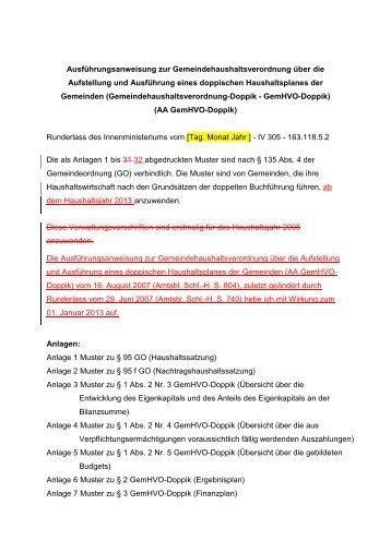 AA GemHVO-Doppik - kassenverwalter.de