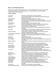 March 1, 2001 Meeting Abstracts - American Contact Dermatitis ...