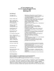 2004 Abstracts - American Contact Dermatitis Society