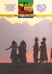 Katalog nr 37 - Velkommen til Etnisk Musikklubb