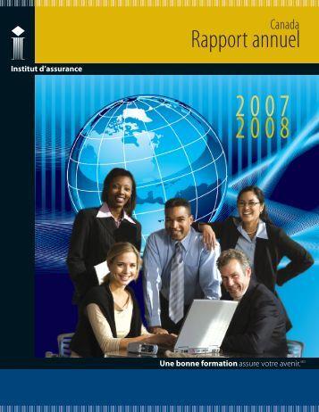 Rapport annuel - Insurance Institute of Canada