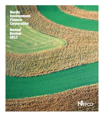 Nordic Environment Finance Corporation Annual Review 2012 - Nefco